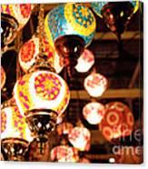 Light Bulb Canvas Print