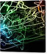Light Explosion 12 Canvas Print
