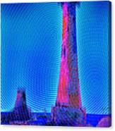 Light House At Sunrise 2 Canvas Print