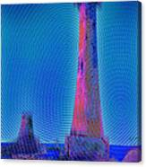 Light House At Sunset 1 Canvas Print