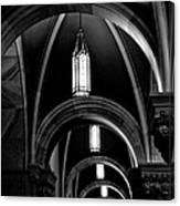 Light In The Basilica Canvas Print