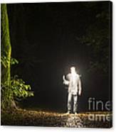 Light Man Canvas Print