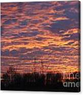 Light My Sky Canvas Print
