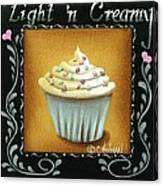 Light 'n Creamy Canvas Print