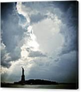 Light Of Liberty Canvas Print