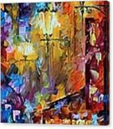 Light Of Night Canvas Print