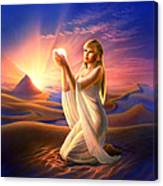 Light Of The Sands Canvas Print