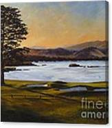 Light On The 18th Canvas Print