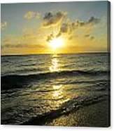 Light On The Sea Canvas Print