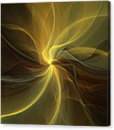 Light Painting Canvas Print