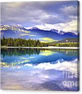Light Play At Lake Annette Canvas Print