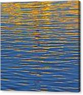 Light Reflections On The Water Canvas Print