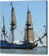 Light Sails Canvas Print