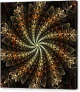 Light Spiral Canvas Print