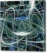 Light Trails 7 Canvas Print