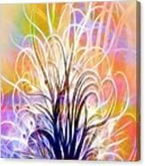 Light Tree Canvas Print