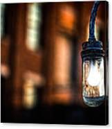Lightbulb Bates Mill #5 Canvas Print