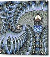 Lighted Cavern Canvas Print