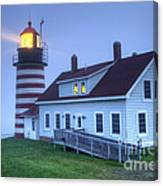 Lighthose Canvas Print