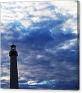 Lighthouse At Cape May Nj Canvas Print