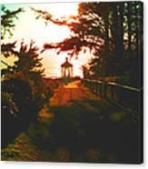 Lighthouse At Dusk Canvas Print