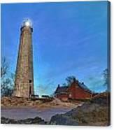 Lighthouse At Lighthouse Point Park Canvas Print