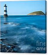 Lighthouse At Penmon Point Canvas Print