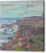 Lighthouse At Point Cabillo  Canvas Print