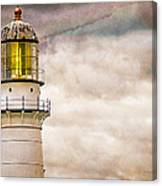 Lighthouse Cape Elizabeth Maine Canvas Print