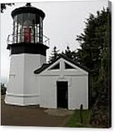 Lighthouse Cape Meares Canvas Print