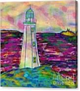 Lighthouse Digital Color Canvas Print