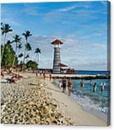 Lighthouse.  Dominican Republic.  Canvas Print