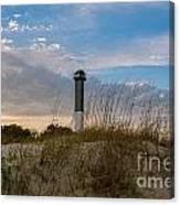 Lighthouse Dunes Canvas Print