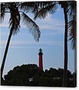 Lighthouse From Afar Canvas Print