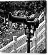 Lighthouse Horns Canvas Print