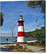 Lighthouse In Mount Dora Canvas Print