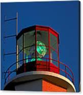 Lighthouse In Nova Scotia Canvas Print