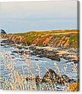 Lighthouse In Summer Canvas Print