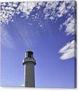 Lighthouse In The Sky Canvas Print