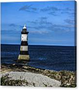 Lighthouse Isle Of Anglessy Wales Canvas Print