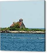 Lighthouse Keepers Residence Canvas Print