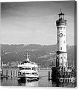 Lighthouse Lindau Lake Constance Germany Canvas Print