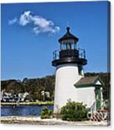 Lighthouse Mystic Seaport Canvas Print