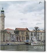 Lighthouse Of Le Grau Du Roi In France Canvas Print