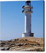 Lighthouse On Cap De Barbaria On Formentera Canvas Print