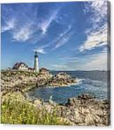 Lighthouse Point Canvas Print