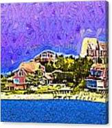 Lighthouse Point Canvas Print