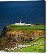 Lighthouse Ponta Do Albernaz Canvas Print