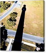 Lighthouse Shadow Canvas Print