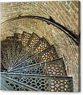 Lighthouse Spiral Staircase Canvas Print